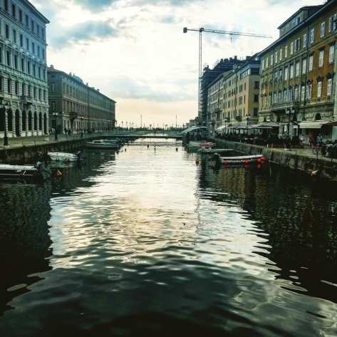 Canal in trieste